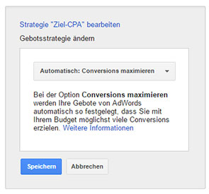 Conversions Strategie